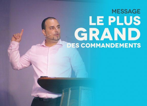 Le Plus Grand Des Commandements